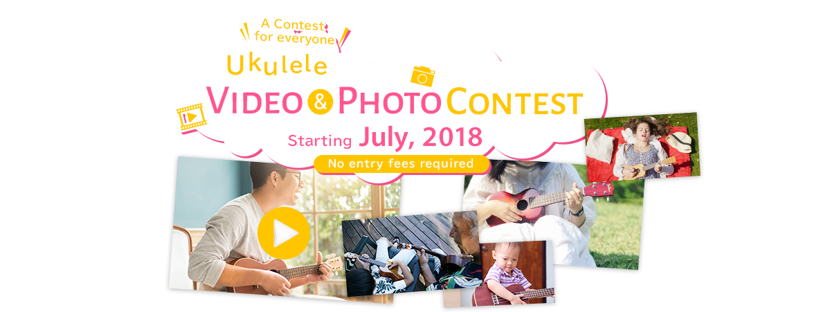 Ukulele Video & Photo Contest Starting July, 2018