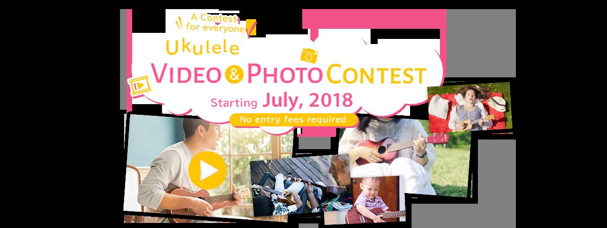 Ukulele Video & Photo Contest Starting July, 2018